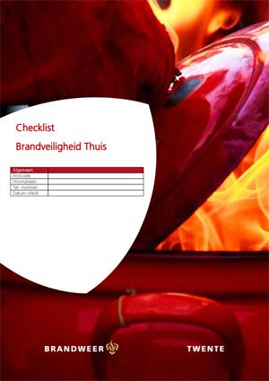 Checklist brandveilig huis